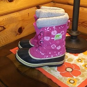 Sorel Graphic Pac boots youth size 2